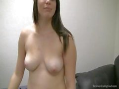 Lourdes in back room casting couch get a creampie in her wet pussy