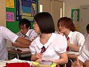 Cute squirting asian schoolgirl Yui Tsubaki