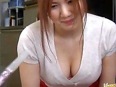 Asian Babe Spreading Her Legs