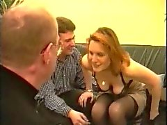 Amateur French Red head Casting