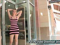 Summer Upskirt in Public