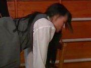 Bad girl spanking hard