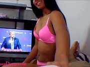 Donald Trump watches Thai teen Heather Deep give deepthroat and get creampie