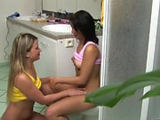 Teen lovers eat each other's slits