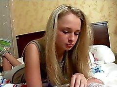 European teen slut beautifully fucked in the pussy