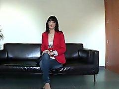 Horny girl brutal anal gangbang