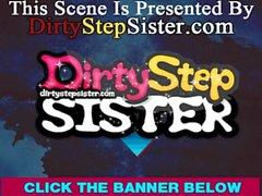 Horny Stepsister Visits Stepbrother's Workplace