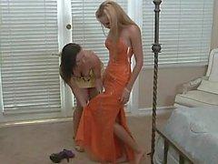Stylish teen and her mom's lesbian friend