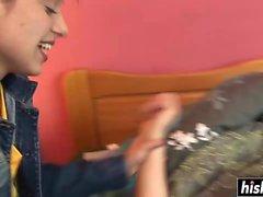 Hot lesbians enjoy some amazing scissoring