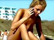 Spy Hot Teen on Beach