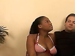 Monique Symone adores to suck and ride a big white cock
