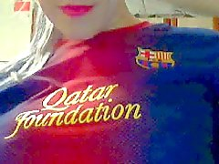 FC Barcelona Girl Loves Pique