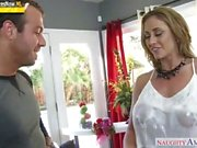 Sons friend gets to fuck a hot stepmom Eva Notty