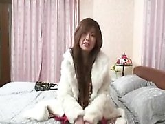 Foxy Asian teen with great boobs gets fingered, dicked and
