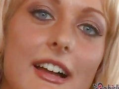 She begs to stop the movie in this brutal gangbang Part 1