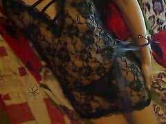Very Horny 19 yo Russian Brunette Teen bates on Webcam