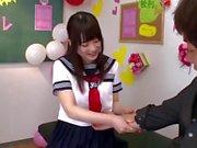 asian femdom (massage trample scissors footjob)