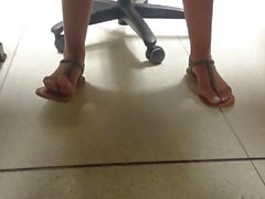 New Friend's Candid Beautiful Feet 7