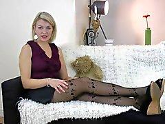 Alicia reviews Cette Valencia tights