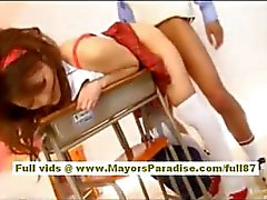 Rio Hot Asian girl is getting fondled by the gynocologist