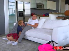 Blonde hot babe Cory Chase getting fucked