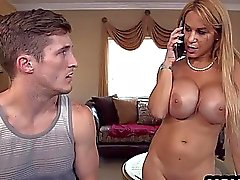 Banging my stepmom and babysitter Alina Li & Alyssa Lynn_1.3.wmv