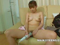 Honoka Ono - Busty Japanese Teen Learning Sex