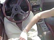 Kinky amateur blonde tramp sells her car sells herself