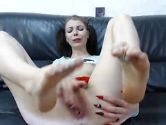 Several foot fetish scenes