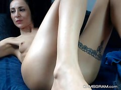 Hot Milf Fucked Her Tasty Ass With A Dildo