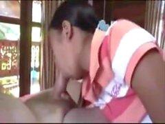 SB2 Tiny Thai Teen Hooker Plies Her Trade