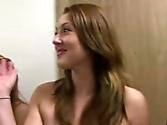 Naked lesbian amateur teens in college sorority sex
