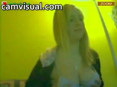 Recorded stream from online teen home webcam