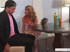 Greedy Mother Shayla LaVeaux Fucks Son In A Baseball Cap