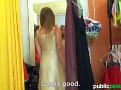 Mofos - Perv films teen in the changing room