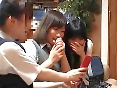 Horny group of asian babes disguised part4