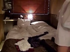 Akane Yoshinaga nice Asian teen in school uniform creamed