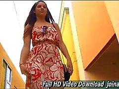 Nicole Dressup Upskirt in Public