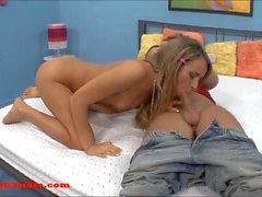 cute small tiny teen blond come look studio with friend and
