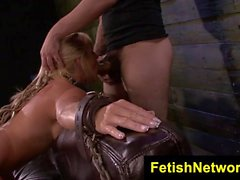 FetishNetwork Dani Dare hard bondage sex
