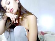 Hottest Amateur 19yo Teen in pink panties bating on Webcam