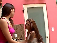 Latina stepsis eats pussy