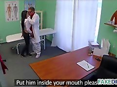 Teen Patient gets fucked in her doctors office