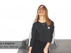 Sexy Spanish Girl In Leggings Dancing