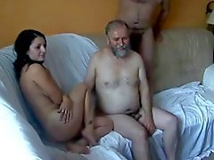 18y Teen fucked by 5 Old Men