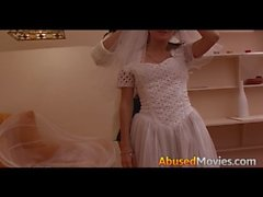 Abusive Couple Force Fucking A Young Bride