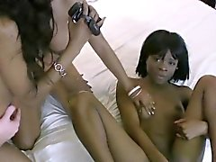 Black party teens suck and fuck