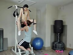 TeamSkeet - Fucking A Fit Teen In The Gym