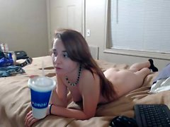 Latina amateur blowjob and fuck on webcam