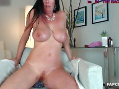 Lustful Big Boobs Whore Has An Intense Masturbation